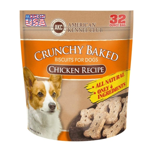 Crunchy Baked Biscuits For Dogs Chicken Recipe