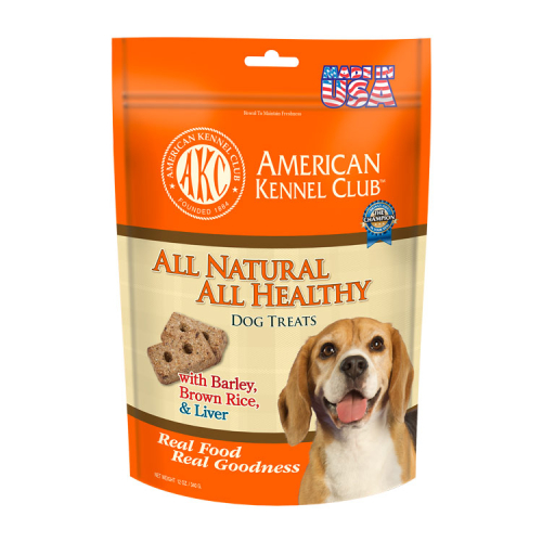 All Natural All Healthy Dog Treats Barley, Brown Rice & Beef Liver Recipe