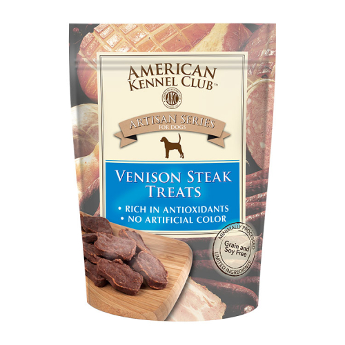 ARTISAN SERIES VENISON STEAK TREATS