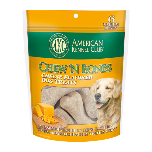 Chew 'N Bones Cheese Flavored Dog Treats
