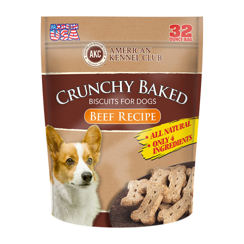 Crunchy Baked Biscuits For Dogs Beef Recipe